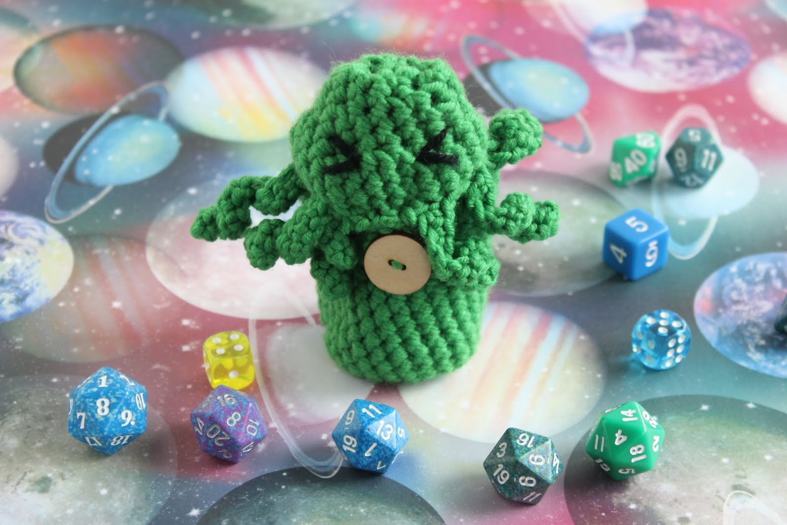 Free cthulhu dice bag crochet pattern gamercrafting bankloansurffo Choice Image